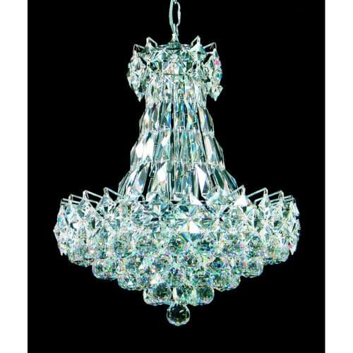 Impex Lighting CE02014/16/CH Le Havre Shower Lead Crystal